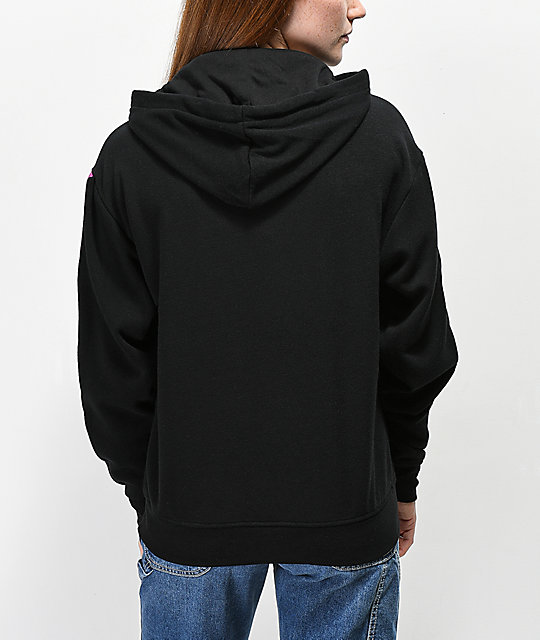 Empyre Hedwig Check Taping Black Hoodie