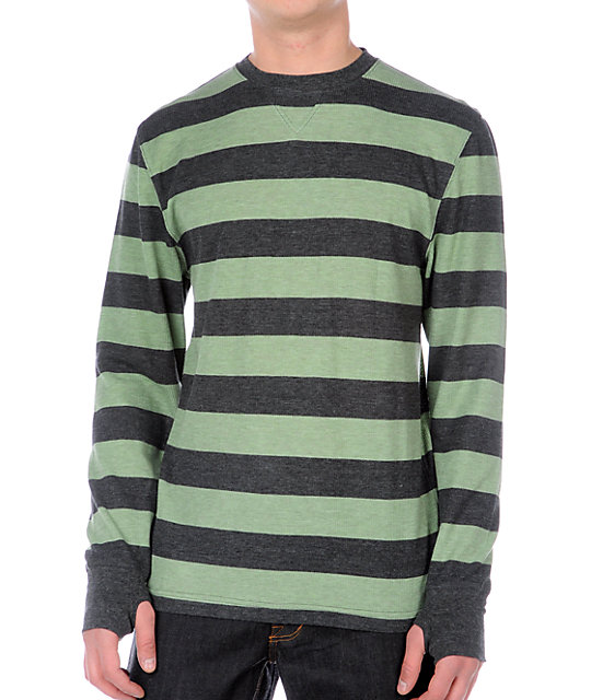 Empyre High Five Green Stripe Thermal