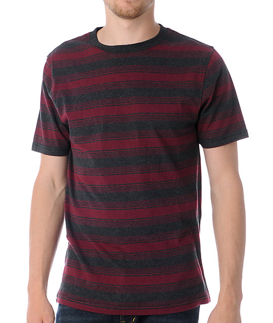 Empyre Hombre Red Stripe T-Shirt