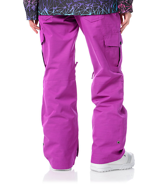 Empyre Hoodwink Purple 10K Snowboard Pants