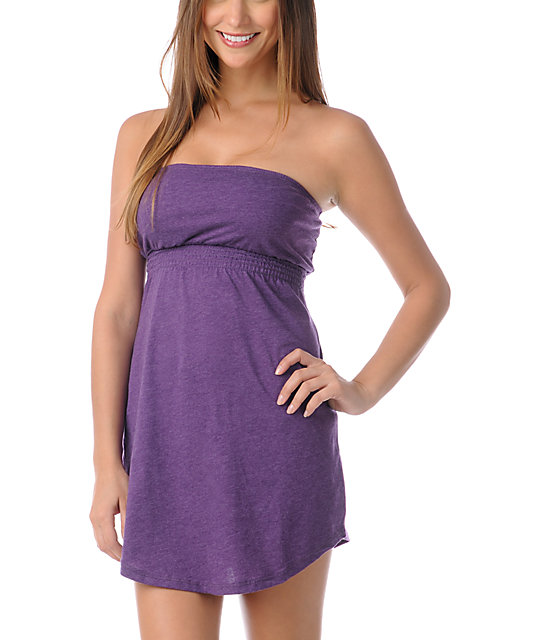 Empyre Imperial Purple Tube Dress