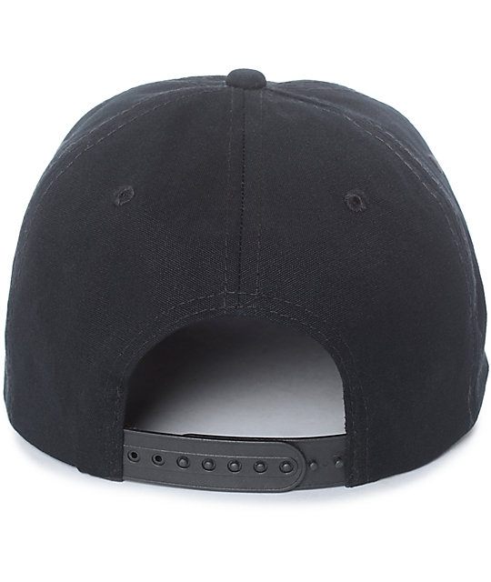 Empyre Indefinite Black Snapback Hat