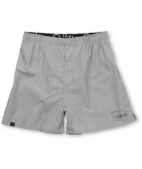 Empyre Issued Black Stripe Poplin Boxers