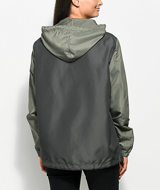 Empyre Jacinta Rose Olive Coaches Jacket