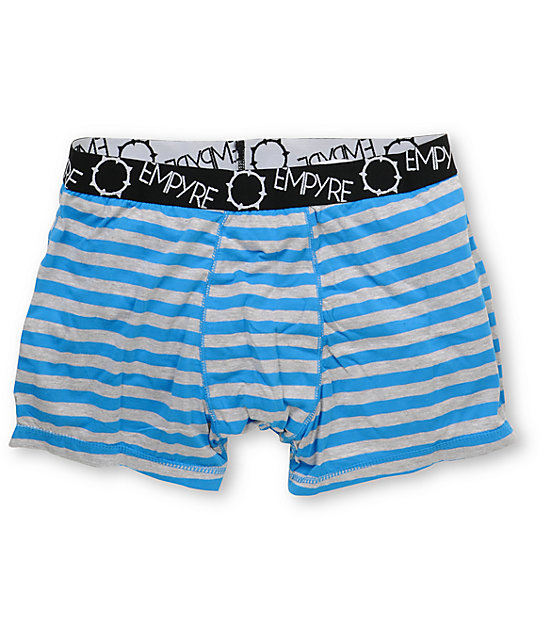 Empyre Jerk Blue & Heather Grey Boxer Briefs