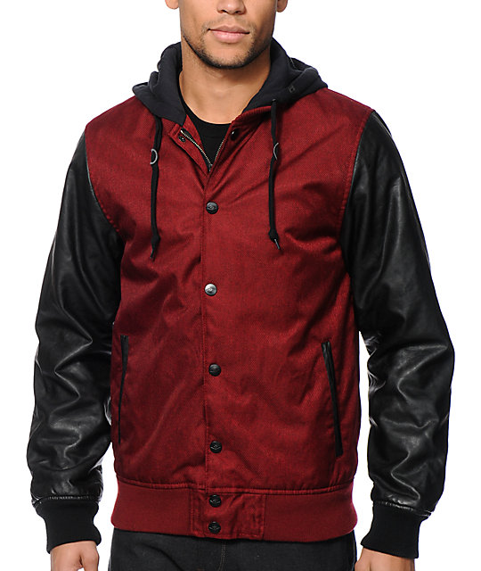 91bd50494 Empyre Kai Hooded Varsity Jacket