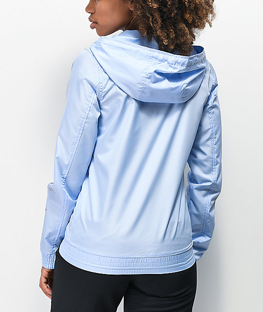 Empyre Keana Flower Blue Windbreaker Jacket