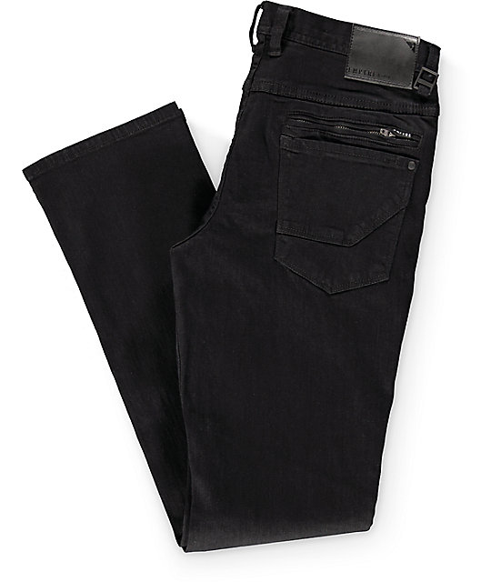 Empyre Kinetic  Black Skinny Fit Jeans
