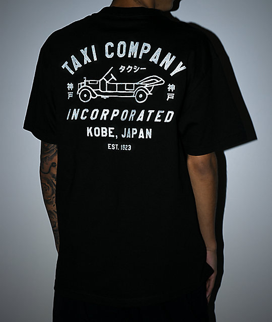 Empyre Kobe Taxi Co. Black T-Shirt