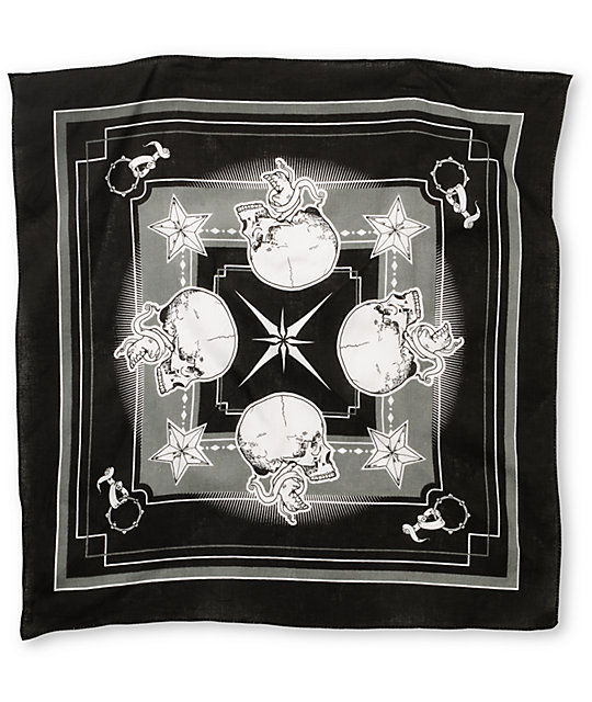 Empyre Lincoln Black Bandana