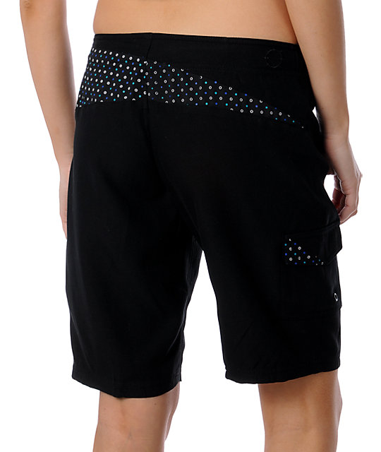Empyre Link Black 11 Board Shorts