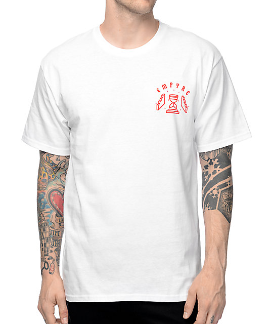 Empyre Lost Times camiseta blanca