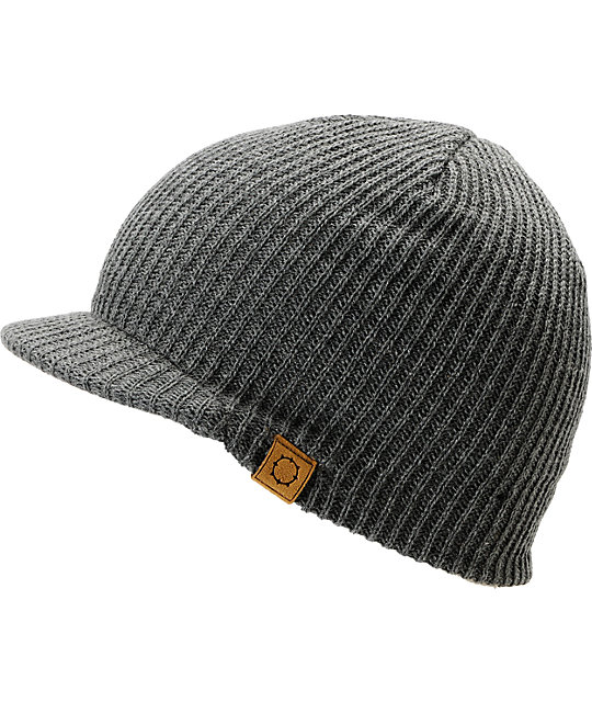 Empyre Media Grey Visor Beanie