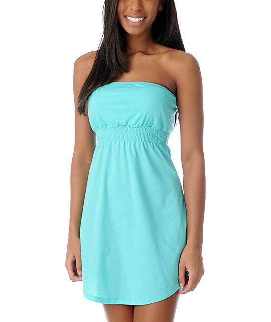 Empyre Mint Tube Dress