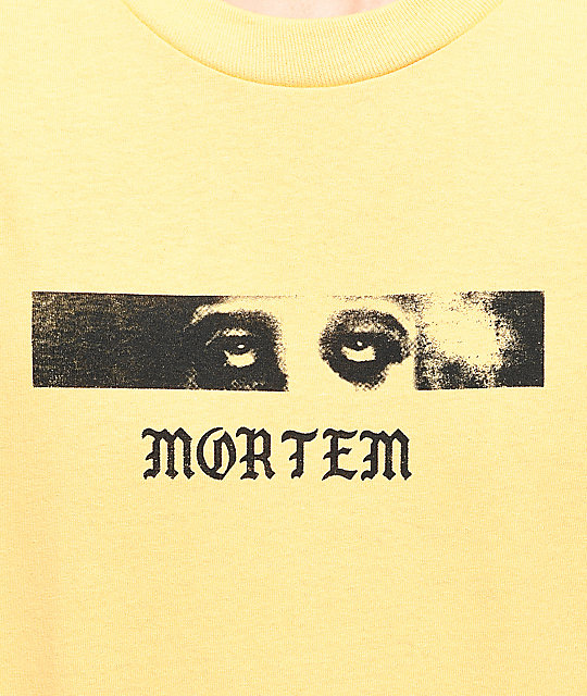 Empyre Mortem camiseta en color amarillo