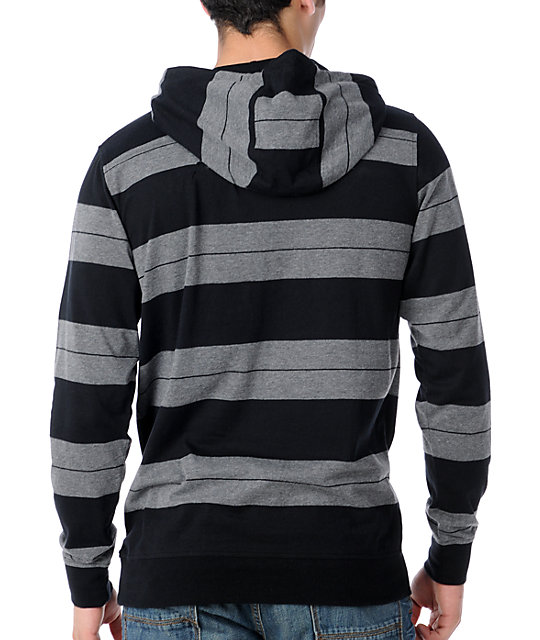 Empyre Narwahl Black Hooded Knit Shirt