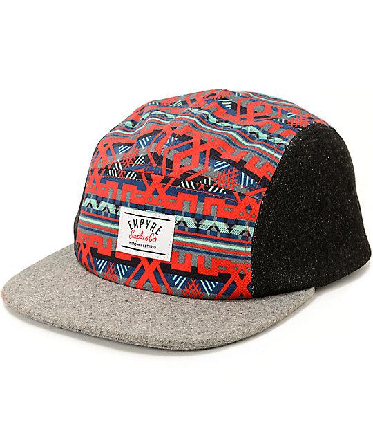 d137ec4627879 Empyre Neato Tribal 5 Panel Hat