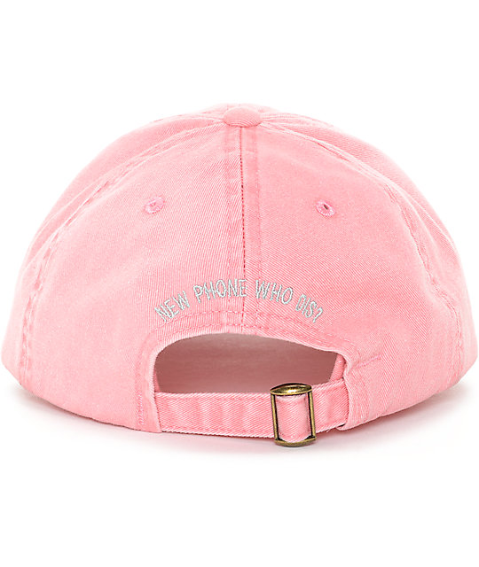 Empyre New Phone Pink Baseball Hat