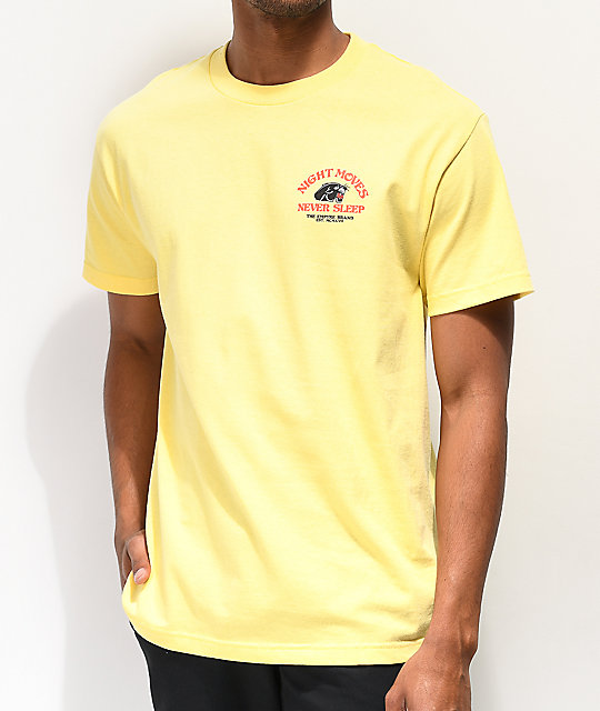 Empyre Night Moves Light Yellow T-Shirt