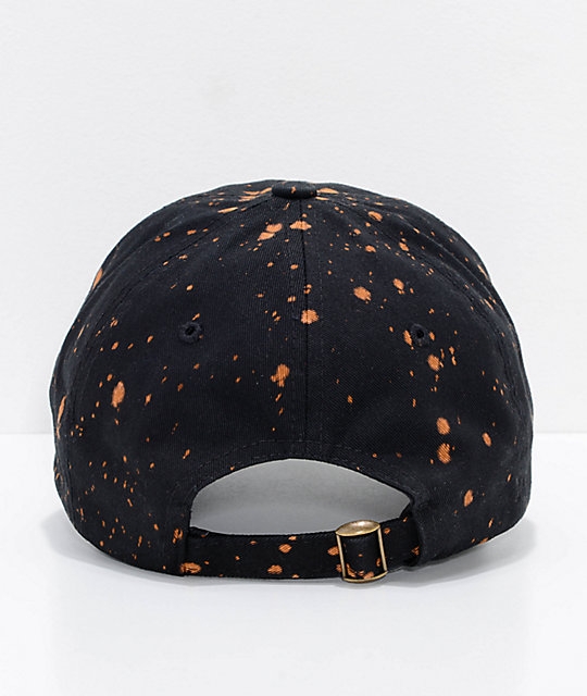 Empyre No Justice Black Acid Wash Strapback Hat