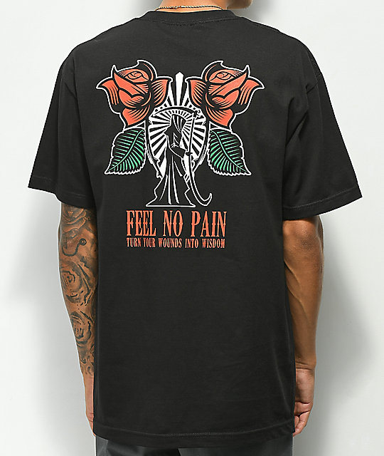 Empyre No Pain camiseta negra