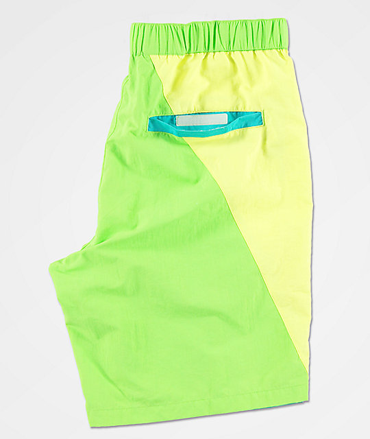 Empyre Offguard Green & Blue Board Shorts