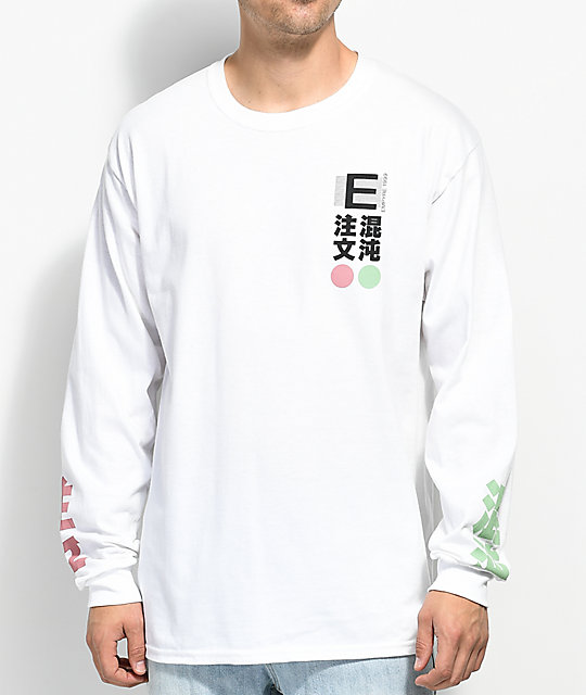 Empyre Order & Chaos White Long Sleeve T-Shirt