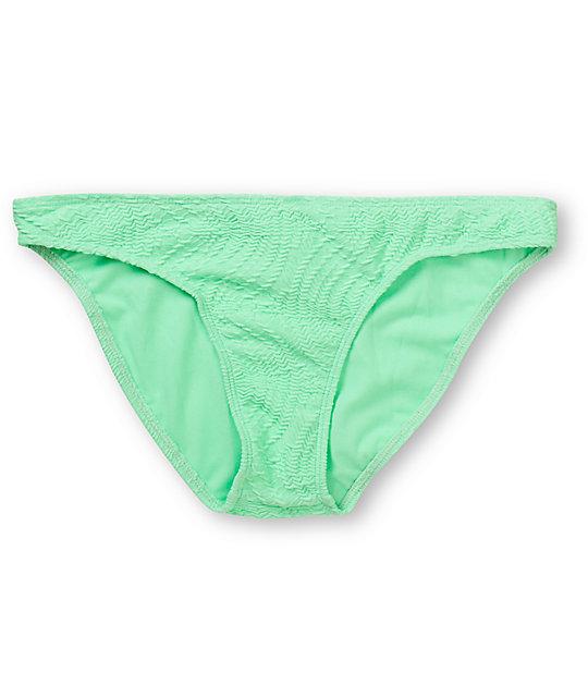 82c98bb8d8e0f Empyre Oreti Mint Green Crochet Basic Bikini Bottom | Zumiez