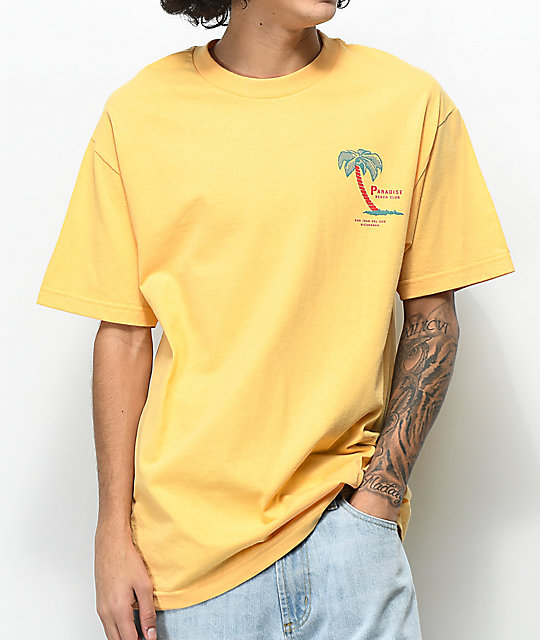 Empyre Paradise Club Peach T-Shirt