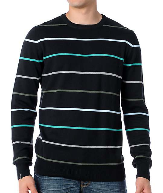 Empyre Pioneer Black Crew Neck Sweater