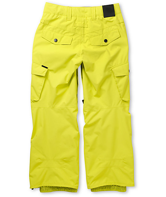 Empyre Protocol Yellow 10K Boys Snowboard Pants 2013