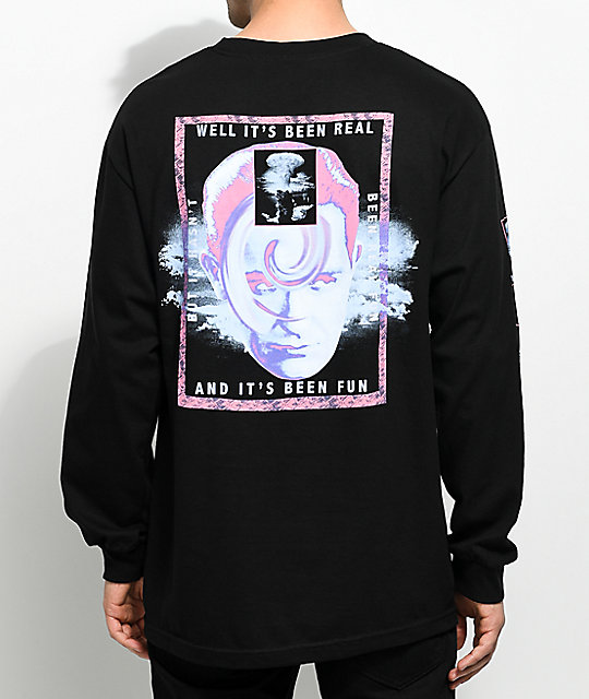 Empyre Psychosis Black Long Sleeve T-Shirt