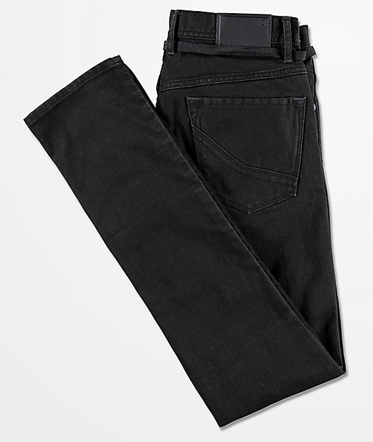 Empyre Recoil Black Super Skinny Jeans