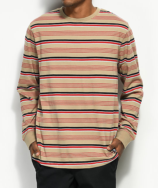 Empyre Recon Multi-Striped Long Sleeve T-Shirt ...