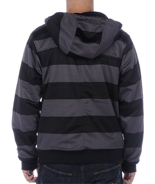 Empyre Retaliation Black Stripe Tech Fleece Jacket