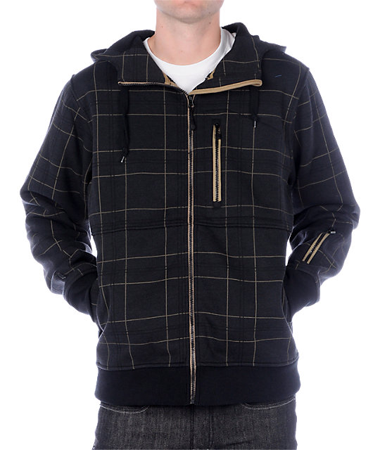 Empyre Revelation Plaid Tech Fleece Jacket