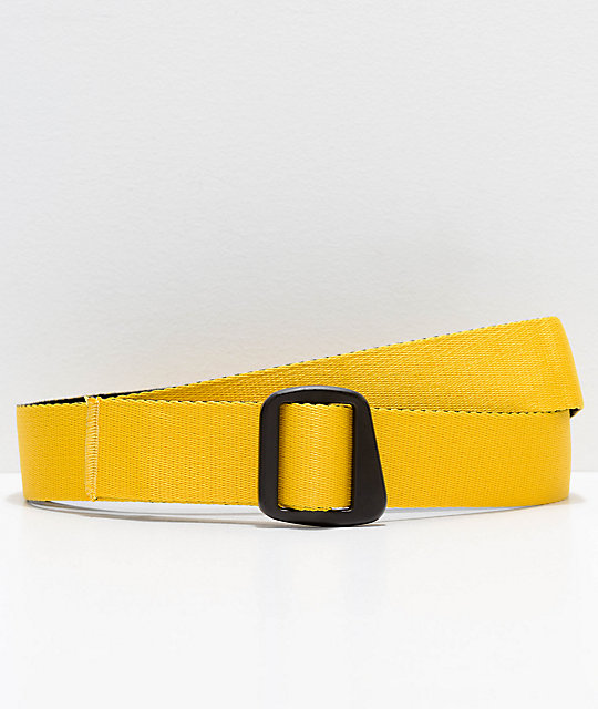 Empyre Reversible Webbed Black & Gold Belt