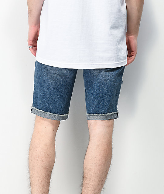Empyre Richmond Blue Denim Shorts