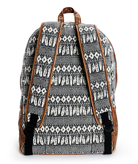 Empyre Robin Feather Print Backpack