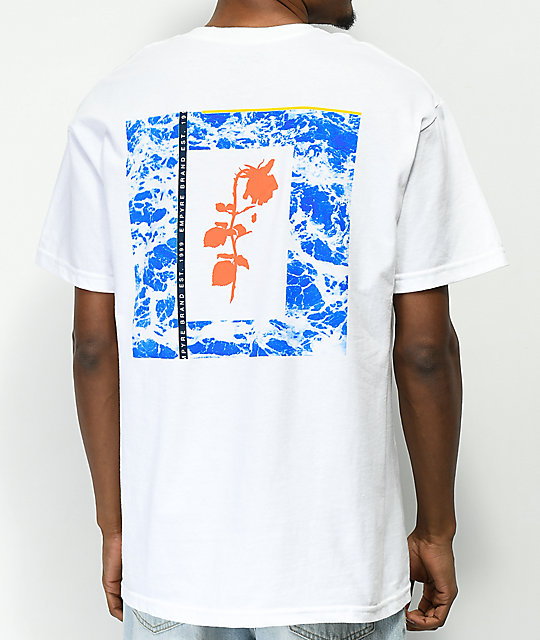 Empyre Rose Mortem White T-Shirt