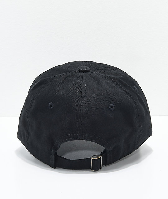 6968edd2a1c ... Empyre Rose Wolf Black Dad Hat