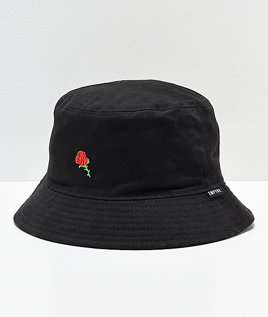 fb20b408404 Empyre Rozay Black Bucket Hat