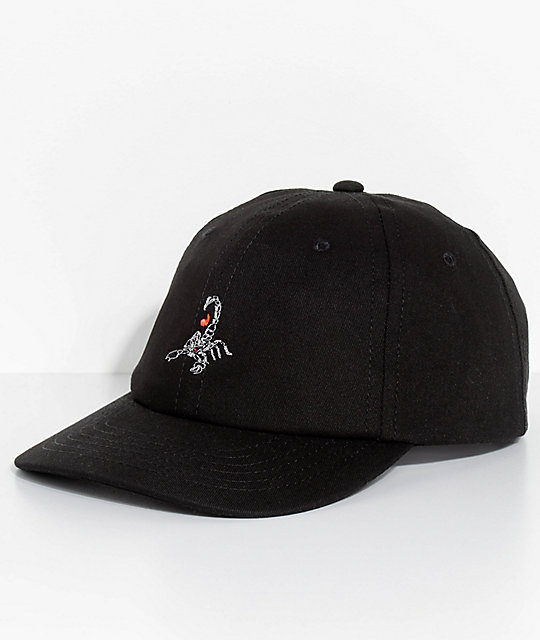 Empyre Scorpion Black Baseball Hat