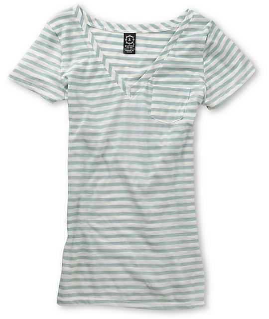 Empyre Sequential Wasabi Mint V-Neck T-Shirt