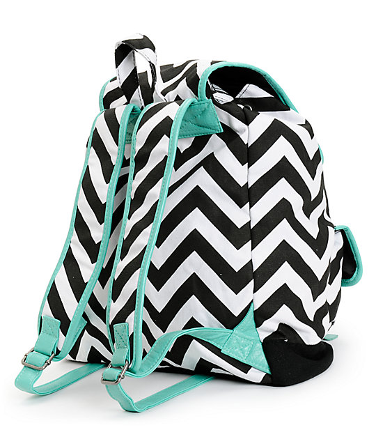 004b6073f8 ... Empyre Serene Chevron Stripe Rucksack Backpack ...