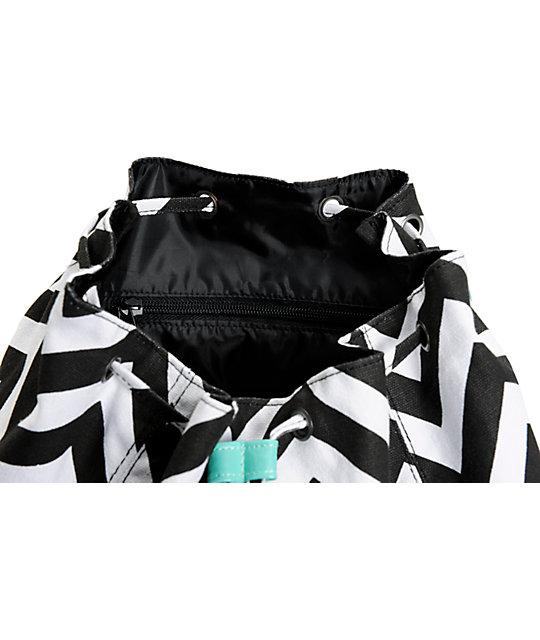 5f5ab0a9c542 ... Empyre Serene Chevron Stripe Rucksack Backpack