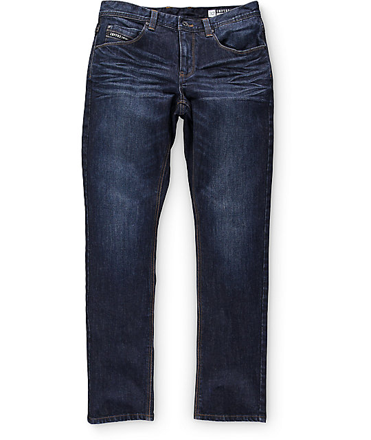 Empyre Skeletor Aged Raw Skinny Fit Jeans ...