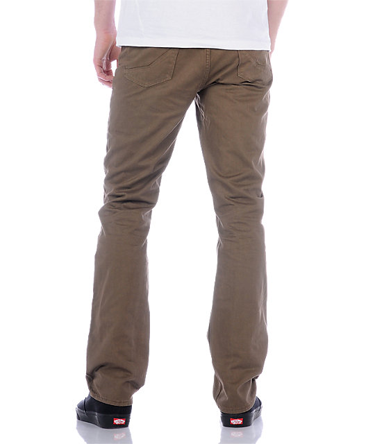 Empyre Skeletor Brown Twill Pants