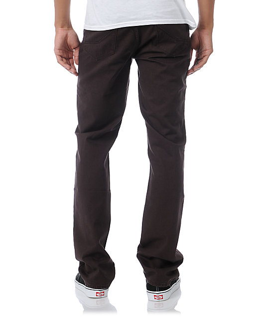 Empyre Skeletor Dark Brown Heavy Twill Pants