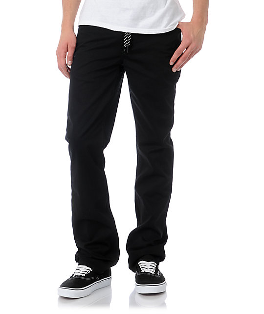 Empyre Skeletor Heavy Twill Black Pants